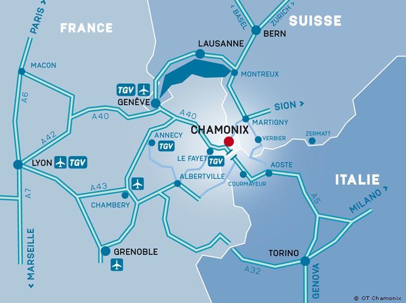Chamonix getting here chamonix mont blanc convention - Lyon to geneva bus ...